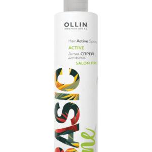 Ollin basic line эктив спрей для волос