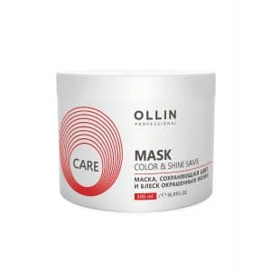 Маска Ollin Care Color Shine Save Mask