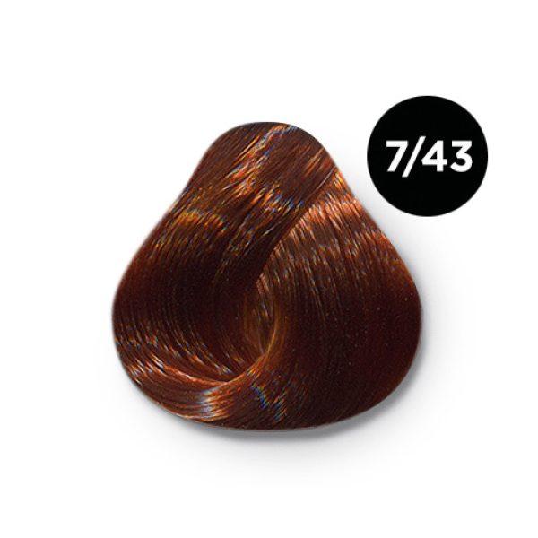 7_43Ollin silk touch перманентная крем краска