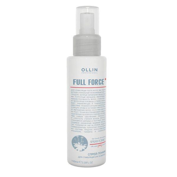 Full force спрей-тоник для стимуляции роста волос с экстрактом женьшеня 100мл