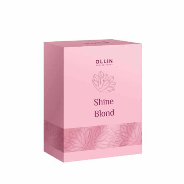 Shine blond набор шампунь кондиционер масло