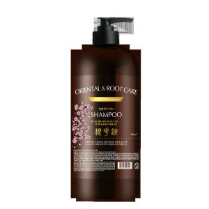 Шампунь для волос ТРАВЫ Institut-beaute Oriental Root Care Shampoo, 750 мл