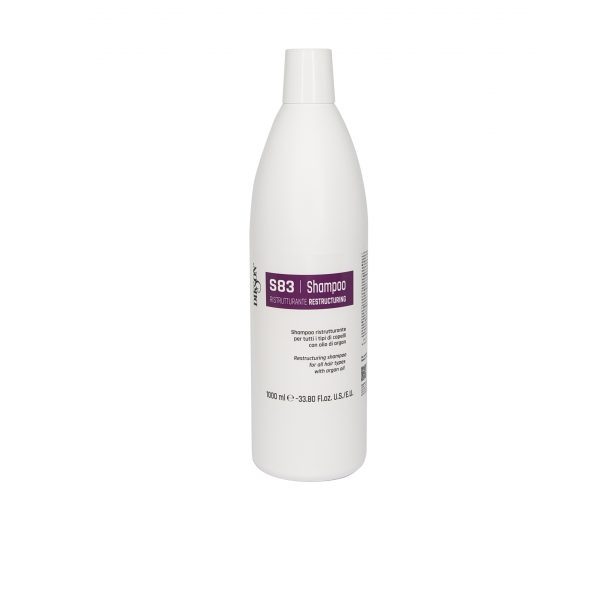 Шампунь восстанавливающий для всех типов с аргановым маслом (SHAMPOO RISTRUTTURANTE S83 Dikson, 1000мл