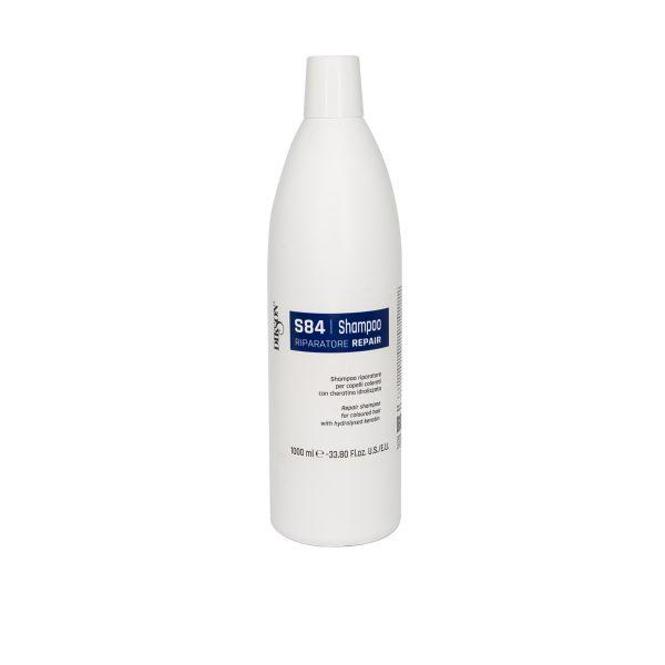 Шампунь восстанавливающий для окрашенных волос с гидролизированным кератином DIKSON SHAMPOO REPAIR S84, 1000мл