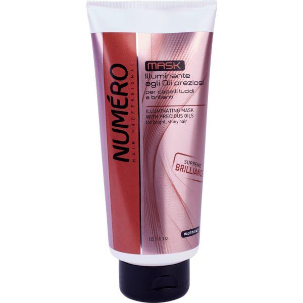 Маска для блестящих волос NUMЕRO ILLUMINATING, 300 мл/ 1000 мл