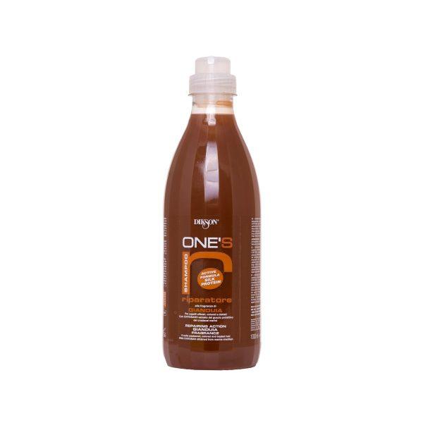 Питательный шампунь для ломких, сухих волос Dikson ONES SAMPOO RIPARATORE, 1000 мл