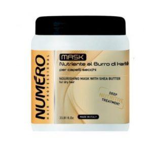 Маска для сухих волос NUMЕRO SHEA BUTTE, 300 мл/1000 мл
